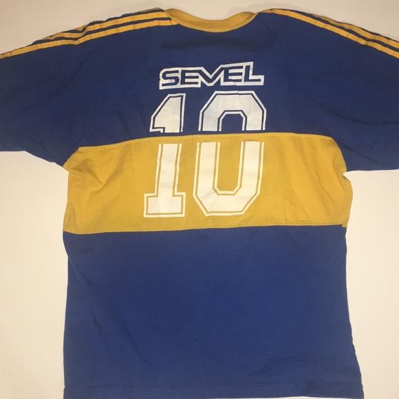 buy online aee25 98953 Adidas original retro 80's Boca Juniors Jersey